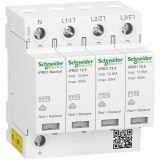 Surge protector A9L16482, 3P+N, 230/400VAC, 1.5kV, 20kA, 50kA, DIN rail