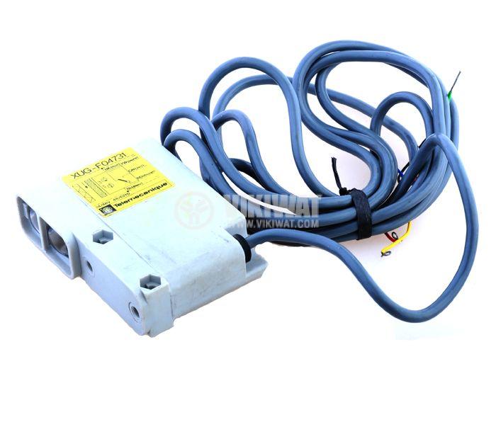 Optoelectronic Switch XUG-F08631 NO + NC diffuse 220VAC range 2000mm (2m) plastic - 1