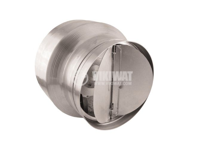 Duct Blower BOK150/120, 220 VAC, 46 W, Ф150x150 mm with shutter