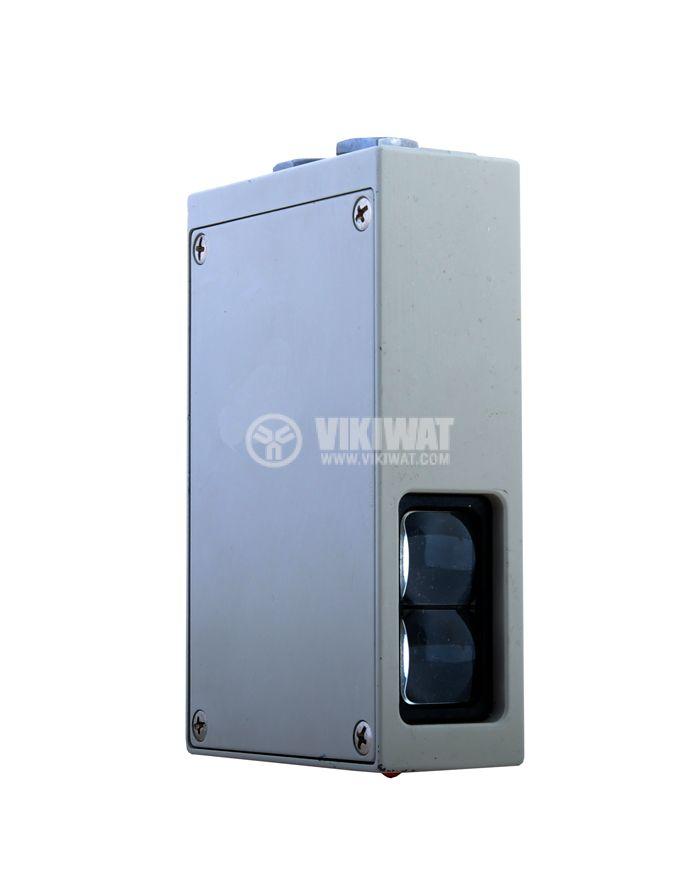 Оптичен датчик дифузен тип E3B-D1K-G 82x127x35 mm, 110-120 VAC (220-240 VAC), NO+NC, обхват 10 m - 2