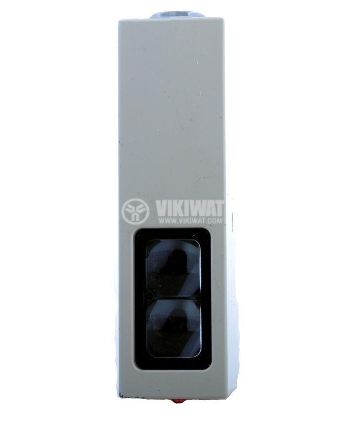 Оптичен датчик дифузен тип E3B-D1K-G 82x127x35 mm, 110-120 VAC (220-240 VAC), NO+NC, обхват 10 m - 3