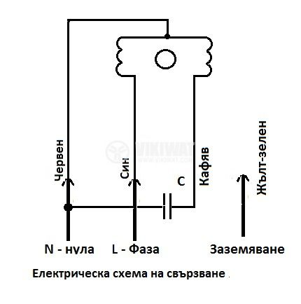 "Вентилатор, промишлен OBR 200M-2K, 220VAC, 450W, 1800m3/h, тип ""охлюв"", с изнесена турбина - 4"