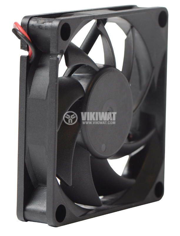 Вентилатор VM7015D24HSL, 70 X 70 X 15 mm, 24 VDC, 0.13 A с втулка - 2