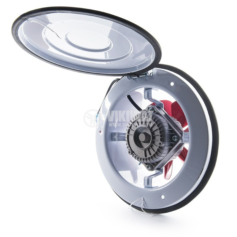 Industrial Axial Blower BK200, ф200mm, 220VAC, 28W, 780m3/h - 3
