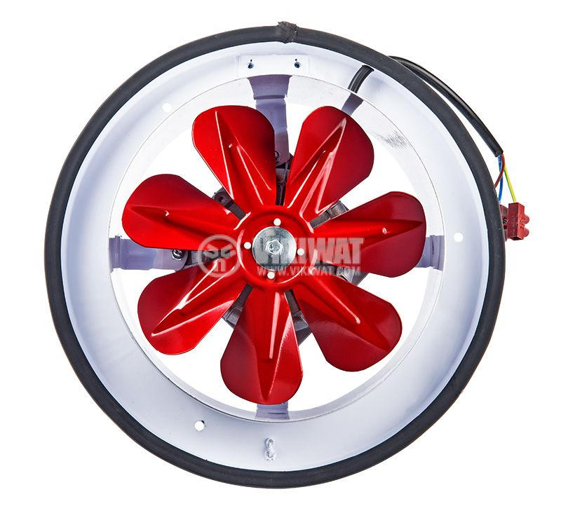Industrial Axial Blower BK200, ф200mm, 220VAC, 28W, 780m3/h - 1