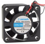 Вентилатор, 24VDC, 40x40x10mm, с втулка, 11.38m3/h, VM4010D24HSL