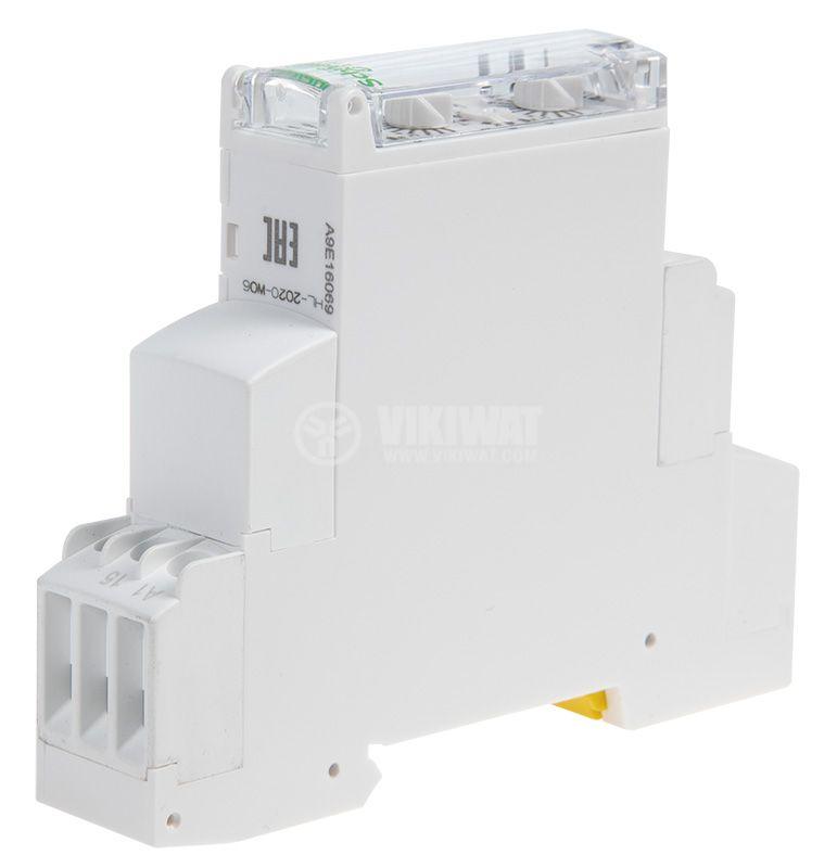 Repeat Cycle Timing Relay 24 VDC / 220 VAC, NO+NC, 250 VAC, 8 A, 0.1 s to 100 h - 4