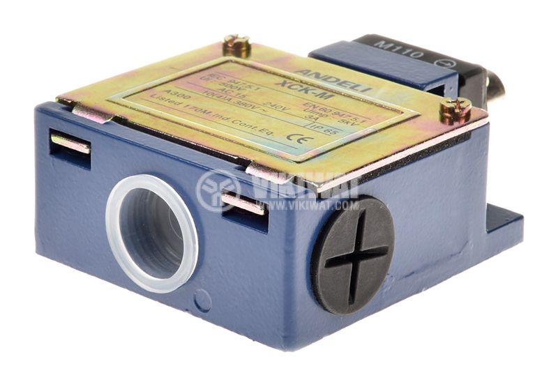 Краен изключвател XCK-M110, SPDT-NO+NC, 10A/250VAC, щифт - 4