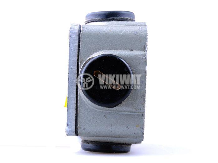 Краен изключвател, S870b, SPDT-NO+NC, 2.5A/380VAC, щифт с ролка - 2