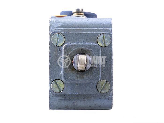 Краен изключвател, S870b, SPDT-NO+NC, 2.5A/380VAC, щифт с ролка - 3