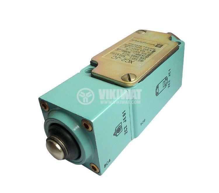 Краен изключвател, XC2-JC, NO+NC, 500VAC / 300VDC, 10A, щифт - 2