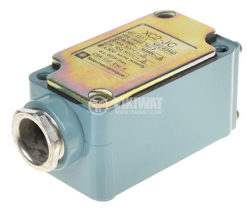 Limit switch, XC2-JC ZC2 JC1, NO+NC, 500VAC, 10A, pusher - 2