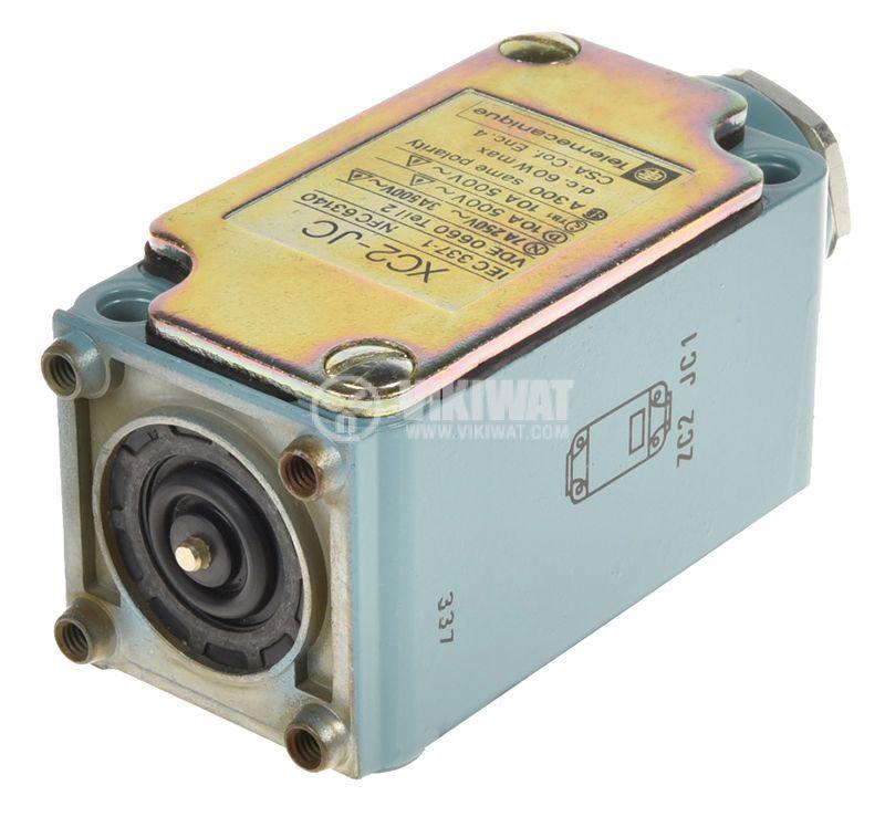 Limit switch, XC2-JC ZC2 JC1, NO+NC, 500VAC, 10A, pusher - 3