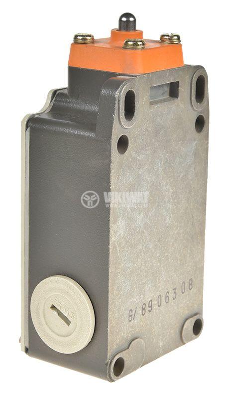 Limit switch, 3SE3 303-1B, DPST-NO+NC, 10A/660VAC, pusher - 2