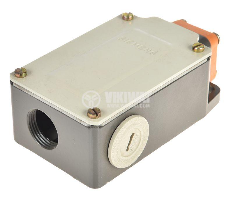 Limit switch, 3SE3 303-1B, DPST-NO+NC, 10A/660VAC, pusher - 3