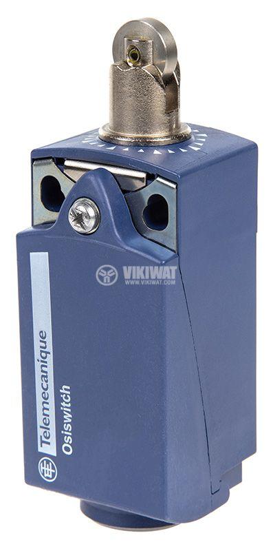 Краен изключвател, XCKP2502P16, NO+NC, 240VAC / 250VDC, 10A, щифт с ролка - 1