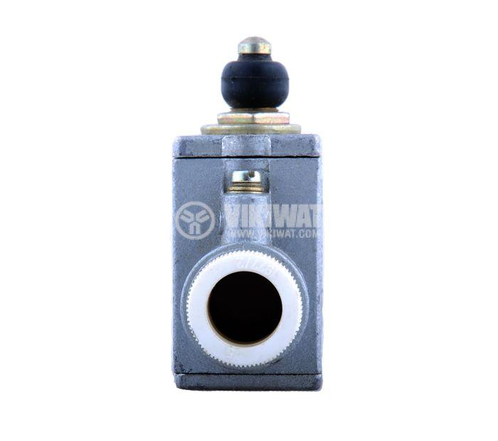 Краен изключвател, AF1D1/1, SPDT-NO+NC, 10A/500VAC, щифт - 2
