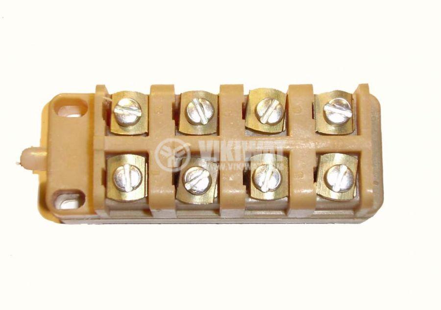 Краен изключвател, ВП19-21А411-67Y2.27, 4PST-3NO+1NC, 10A/660VAC, щифт - 3