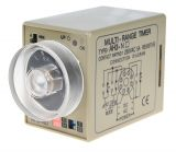 Analogue Time Relay, AH3-2D, 24 VDC, 2NO +2 NC, 220 VAC, 10 A