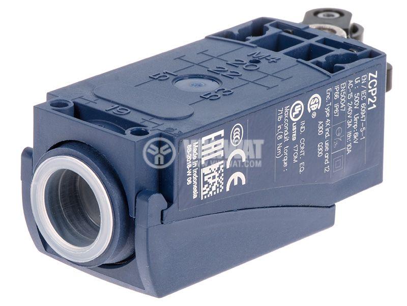 Limit Switch, XCKP2127P16, NO + NC, 240VAC / 250VDC - 2