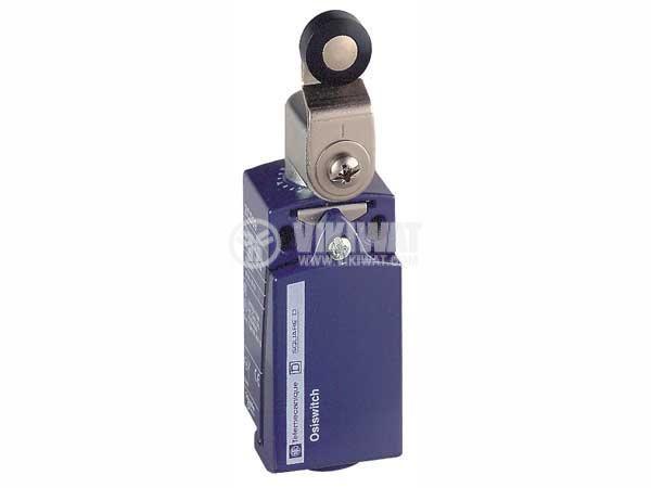 Краен изключвател, XCKP2118P16, NO+NC, 240VAC / 250VDC, 10A, рамо с ролка - 1