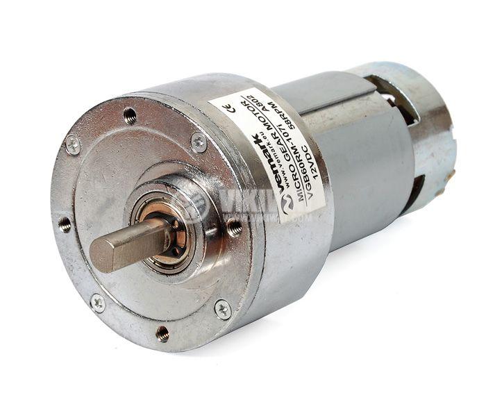 DC Motor Reducer, 12VDC, 58rpm, VGB60RM-107i - 1