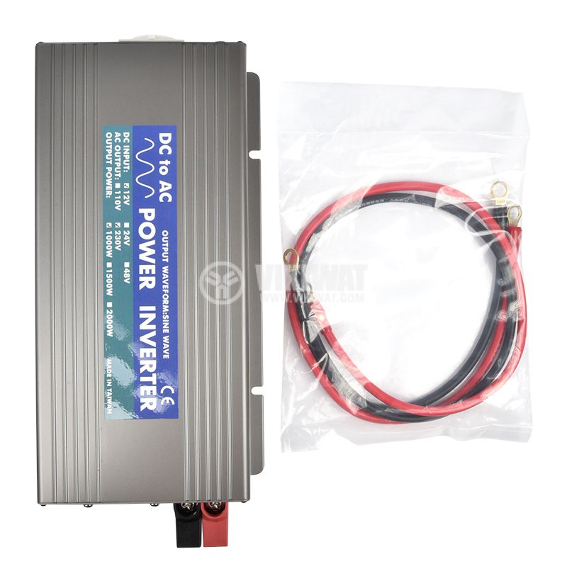 Инвертор TS-1000-212 12VDC-230VAC 1000W истинска синусоида - 5