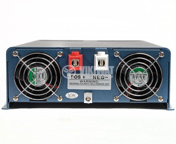 Inverter, A301-1500W(S)-12, 12VDC - 220VAC, 1500W, pure sinewave - 4