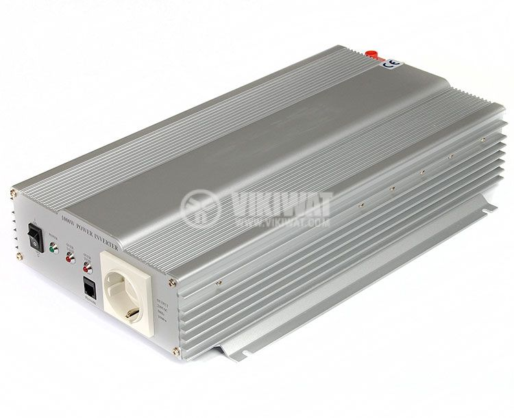 Инвертор, A301-1000W(S)-24, 24VDC - 220VAC, 1000W, истинска синусоида - 1