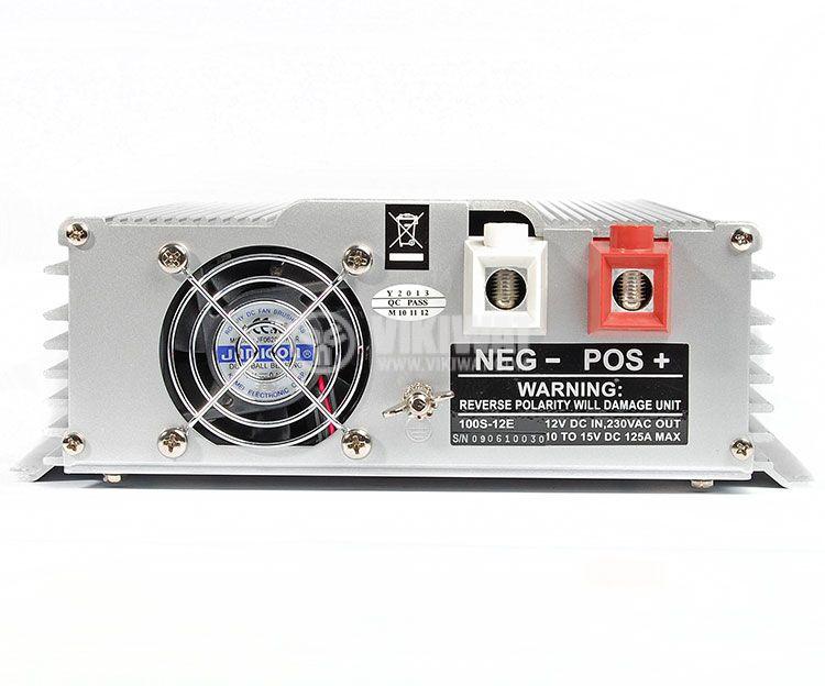 Инвертор, A301-1000W(S)-24, 24VDC - 220VAC, 1000W, истинска синусоида - 3