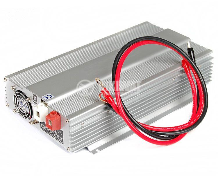 Инвертор, A301-1000W(S)-24, 24VDC - 220VAC, 1000W, истинска синусоида - 4