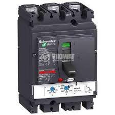 Автоматичен токопрекъсвач, триполюсен, 175-250A, 690VAC, 3P, NSX250B