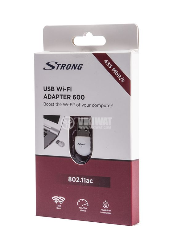 Wi-Fi Адаптер Strong 600, USB  - 4