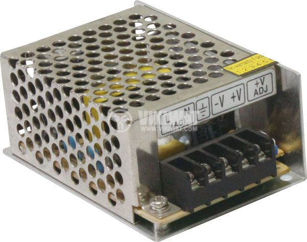 Switching power supply (mini) 24VDC, 1.5A, 35W, IP20, VMS35-24