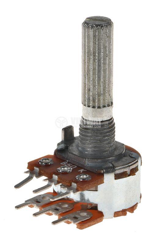 Потенциометър линеен 50kOhm - 1