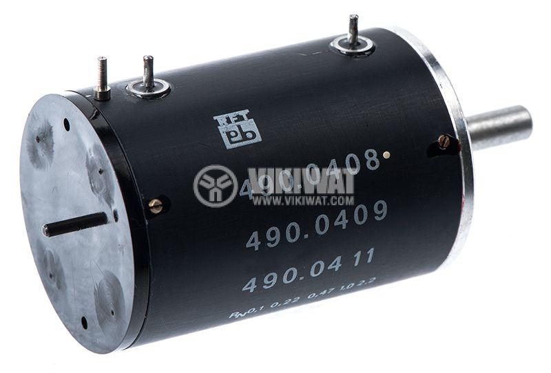 Потенциометър 490.0408 моно 4.7kOhm, 2W - 3