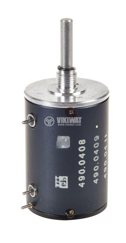 Потенциометър линеен моно жичен 100kOhm 2W - 1
