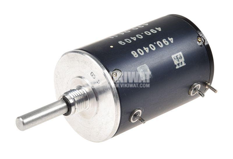 Потенциометър линеен моно жичен 100kOhm 2W - 2