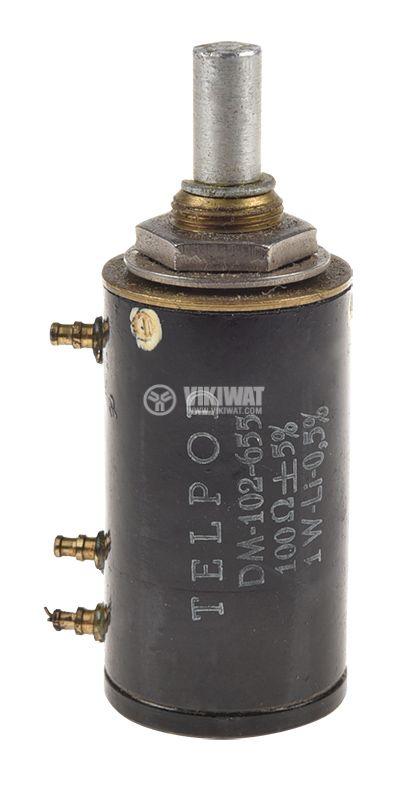 Potentiometer Linear Tape Mono Wire 100Ohm 1W on