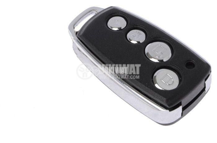 Shell case for remote control Tx4R, for car alarms Mark 5100 Lux