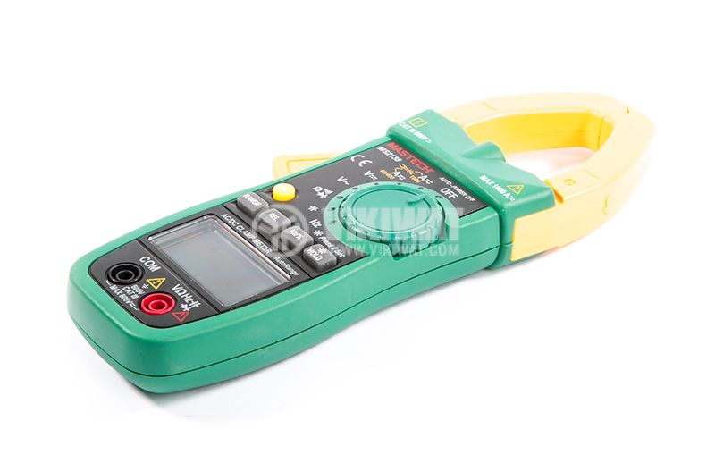 MS2138 - Амперклещи, LCD (4000), Φ40mm, Vac, Vdc, Aac, Adc, Ohm, капацитет, MASTECH - 4