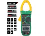 MS2138 - Амперклещи, LCD (4000), Φ40mm, Vac, Vdc, Aac, Adc, Ohm, капацитет, MASTECH