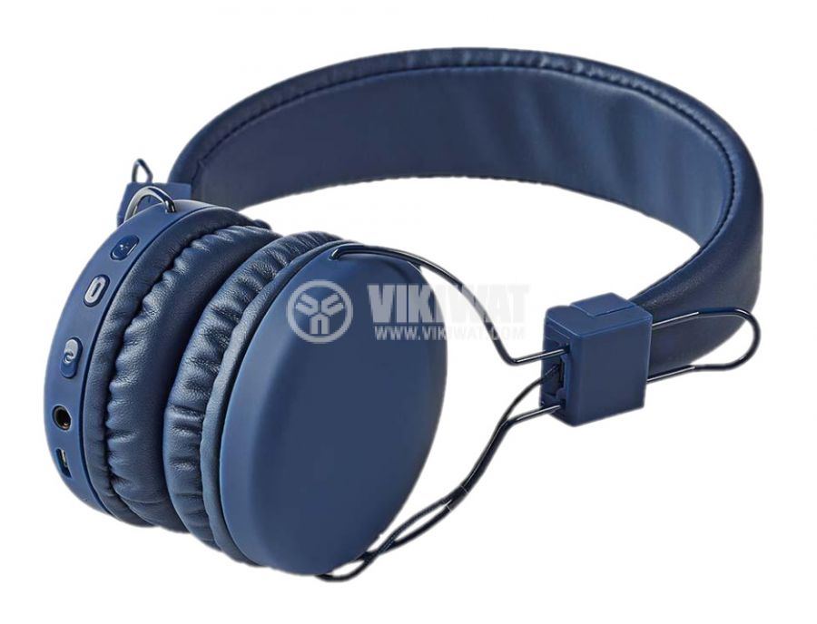 Headset HPBT1100BU Bluetooth build-in microphone blue - 4