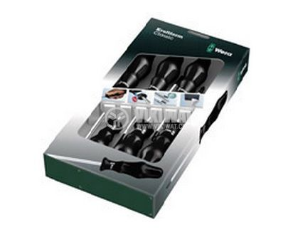 Screwdriver Set 6 pcs slotted and Philips