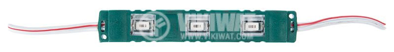 LED module 3led, 1.2W, 12VDC, waterproof, green