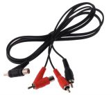 Cable, 2xRCA M-2xRCA M, 1m