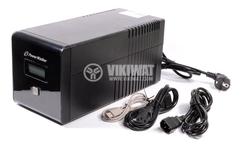 Emergency power supply PowerWalker VI 1000LCD  - 1