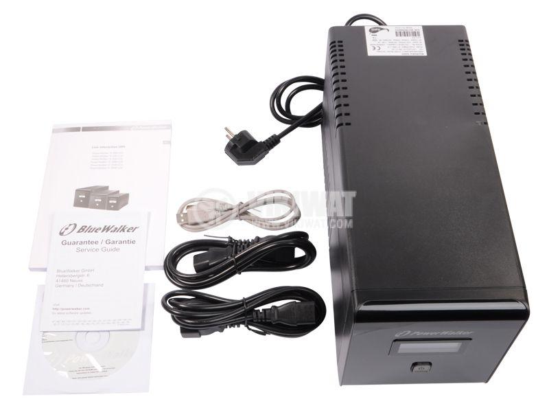 Emergency power supply PowerWalker VI 1000LCD  - 2