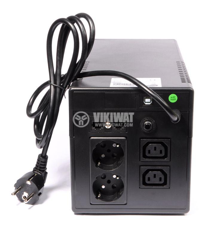 Аварийно захранване UPS PowerWalker VI 1000LCD 600W  - 4