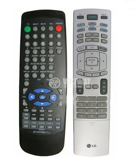 Remote control, LG 6710T00017J - 2